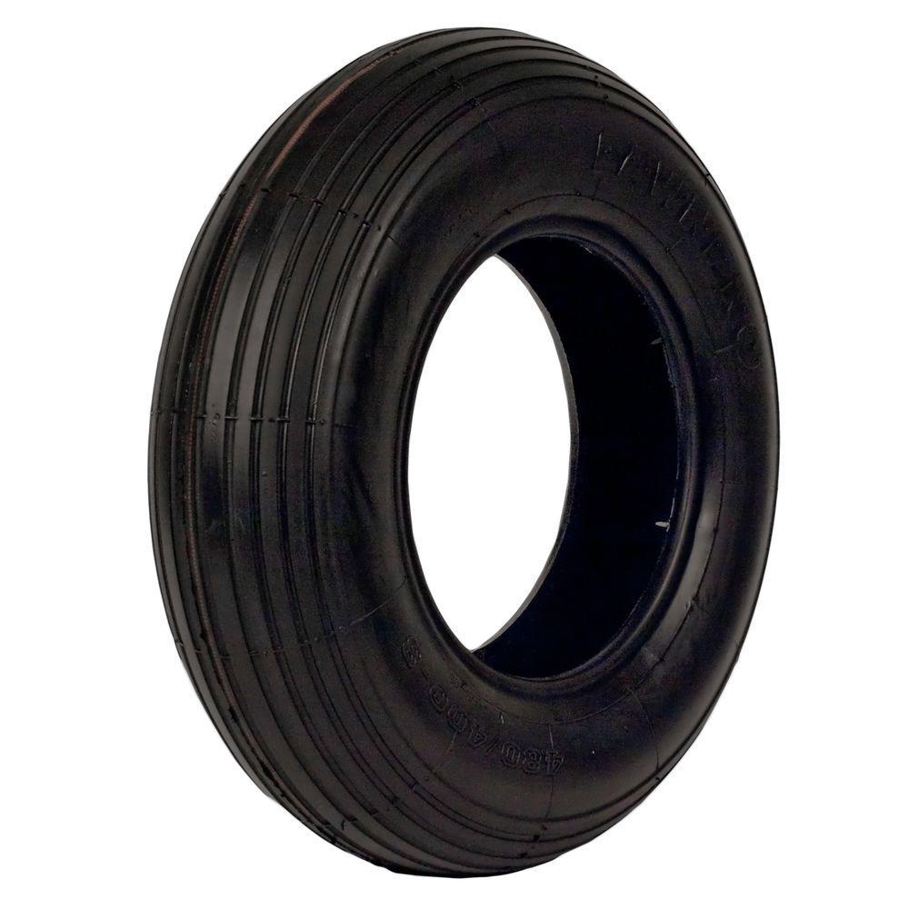 Martin Wheel LawnPro Rib Tread 480/400-8 Tubeless 2-Ply Tire