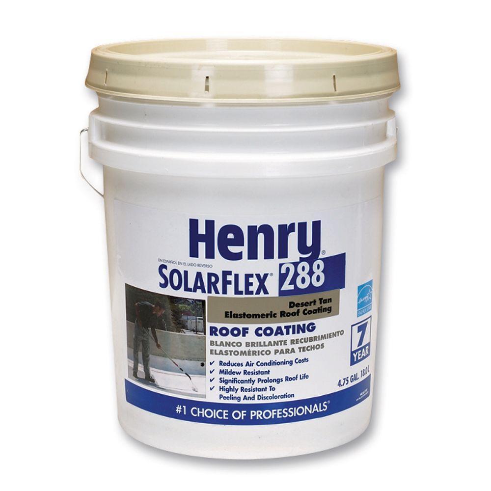 Henry 4.75 Gal. 288 Solarflex Roof Coating