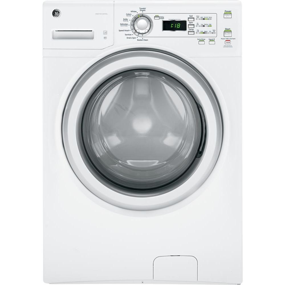 GE 3.6 DOE cu. ft. High-Efficency Front Load Washer in White, ENERGY STAR