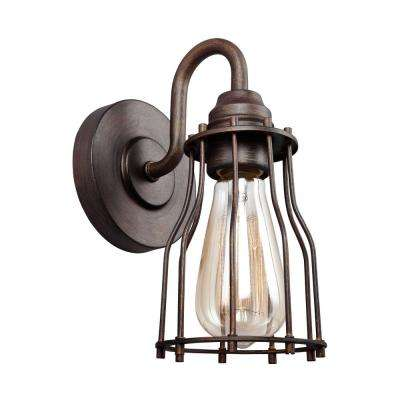 Calgary 1-Light Parisian Bronze Sconce