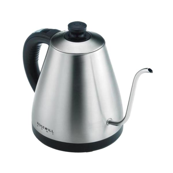 Rosewill 4-Cup Gooseneck Stainless Steel Electric Kettle with Temperature Control