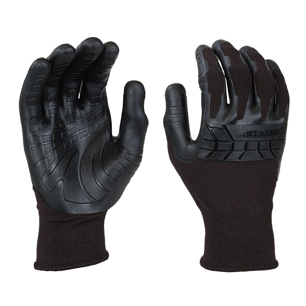 Pro Palm Plus Medium Black Glove