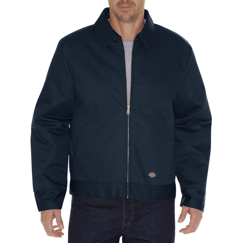 Men Large Insulated Eisenhower Dark Navy Jacket