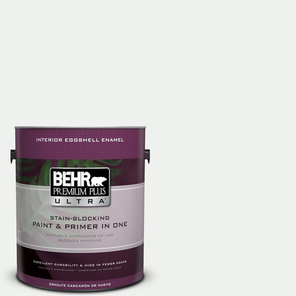 BEHR Premium Plus Ultra 1-gal. #ecc-65-2 Mineral Spring Eggshell Enamel Interior Paint