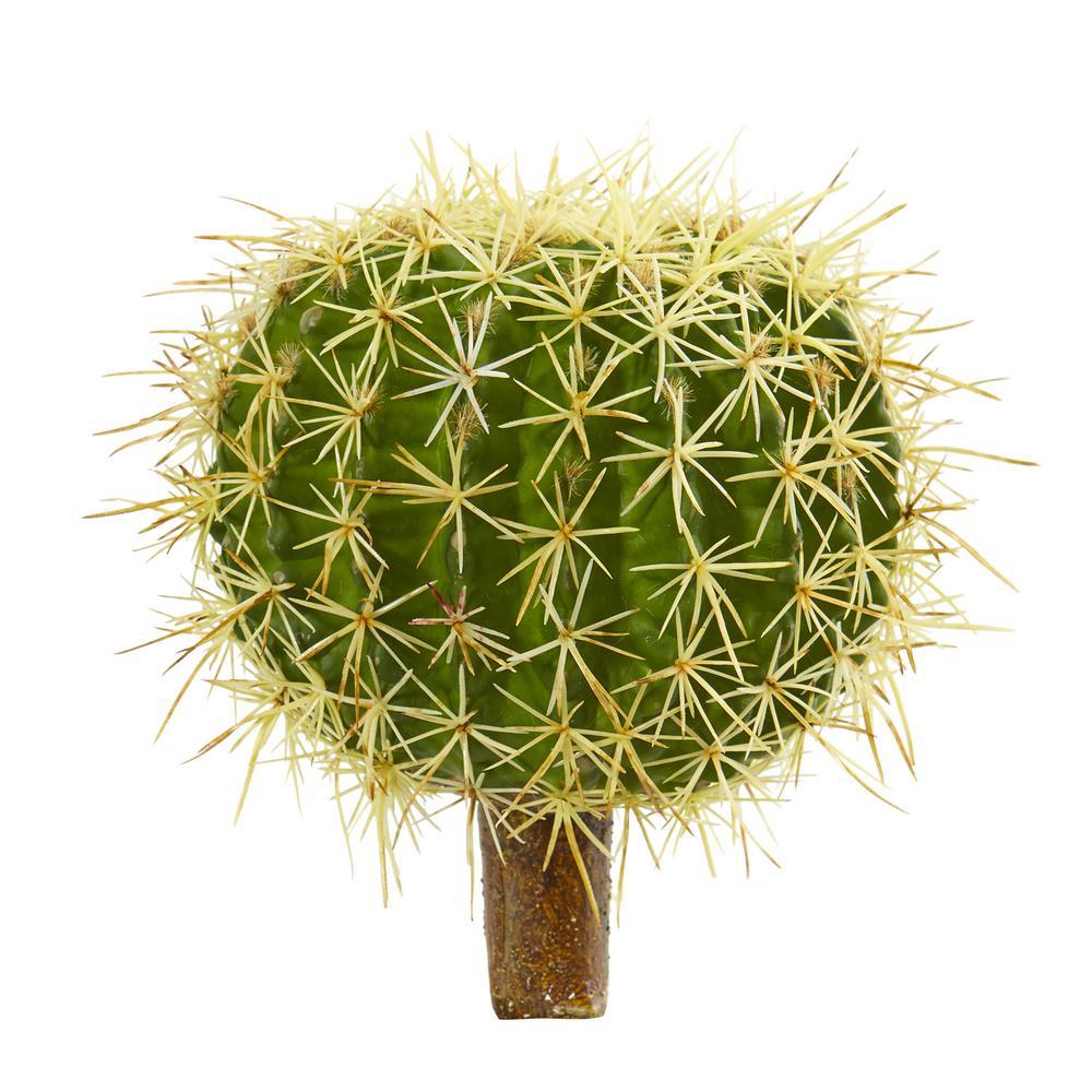 8 in. Cactus Succulent Artificial Plant (Set of 4)