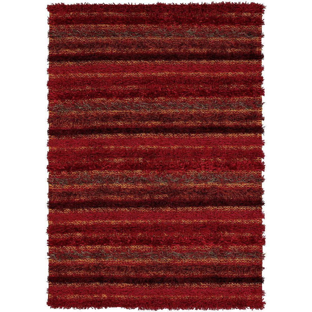 Lavasa Red/Orange 7 ft. 9 in. x 10 ft. 6 in.
