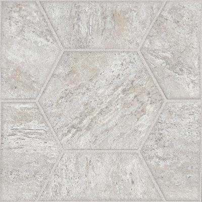 Lattice Cream 12 in. x 12 in. Peel and Stick Vinyl Tile (30 sq. ft. / case)