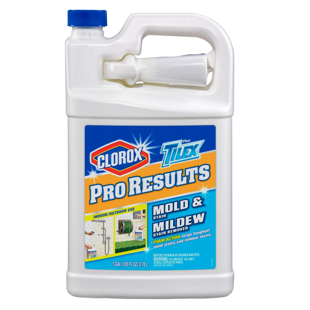 tilex 128 oz. fresh pro results mold and mildew stain remover