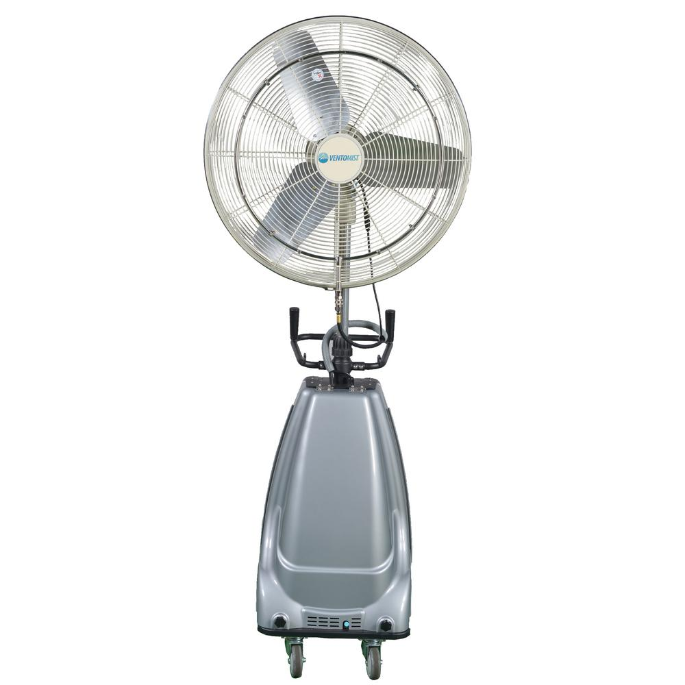 30 in. 3-Speed Portable and Oscillating High Pressure Misting Fan with