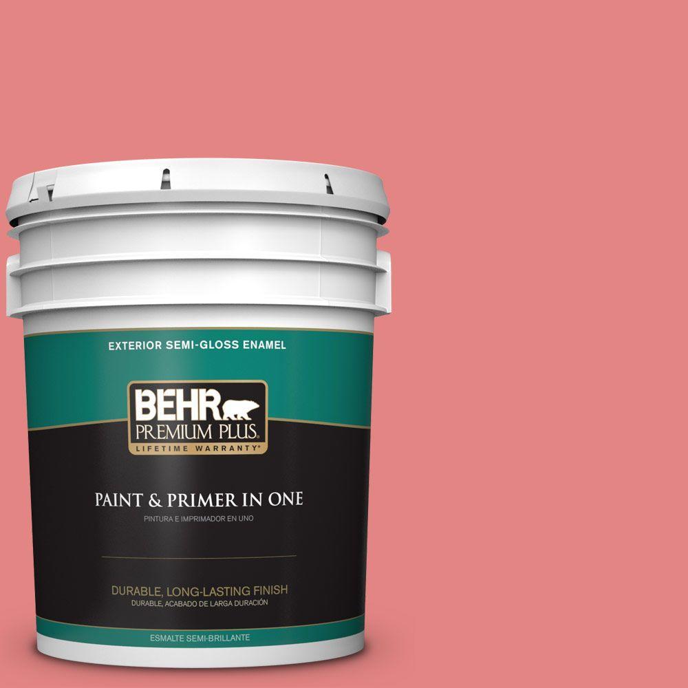 5-gal. #160B-5 Candy Mix Semi-Gloss Enamel Exterior Paint