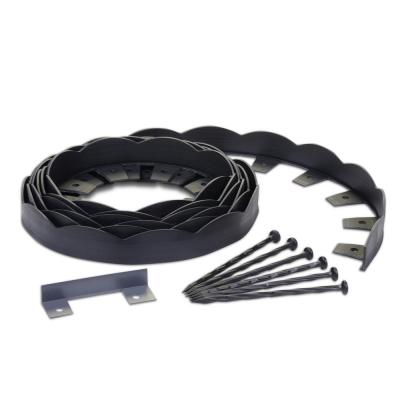 No-Dig 20 ft. Scallop Top Edging Kit