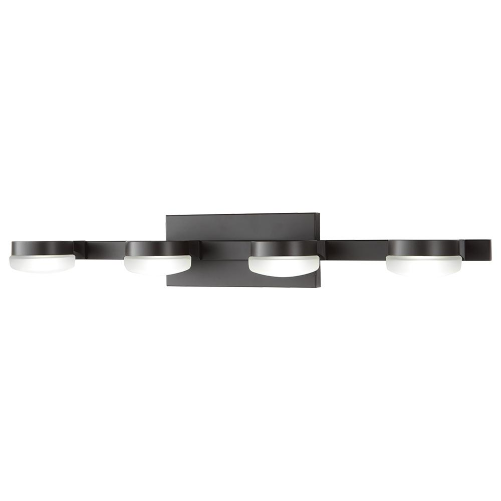 Home decorators collection 40 watt equivalent 4 light oil rubbed home decorators collection 40 watt equivalent 4 light oil rubbed bronze integrated led vanity aloadofball Choice Image