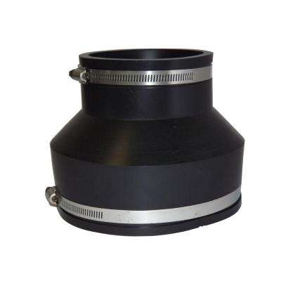 6 in. x 4 in. PVC A.C., Fibre or D.I. to C.I. or Plastic Flexible Coupling