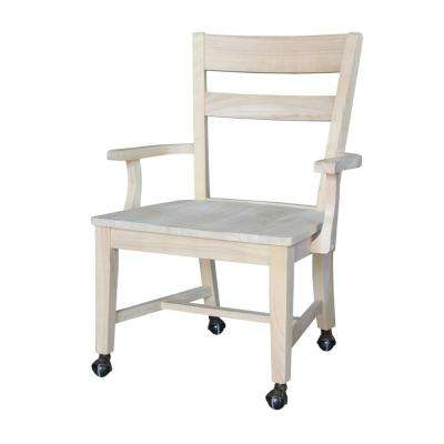 Unfinished Mobile Desk Chair