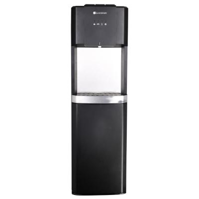 Matte Black and Stainless Steel Bottom Load Water Dispenser