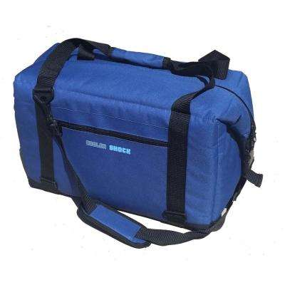 No-Ice Soft Cooler, Fits 24 Cans in Blue