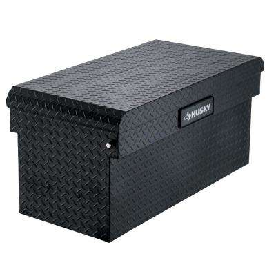 40.8 in. x 20.4 in. x 19.1 in. Matte Black Aluminum Universal Chest