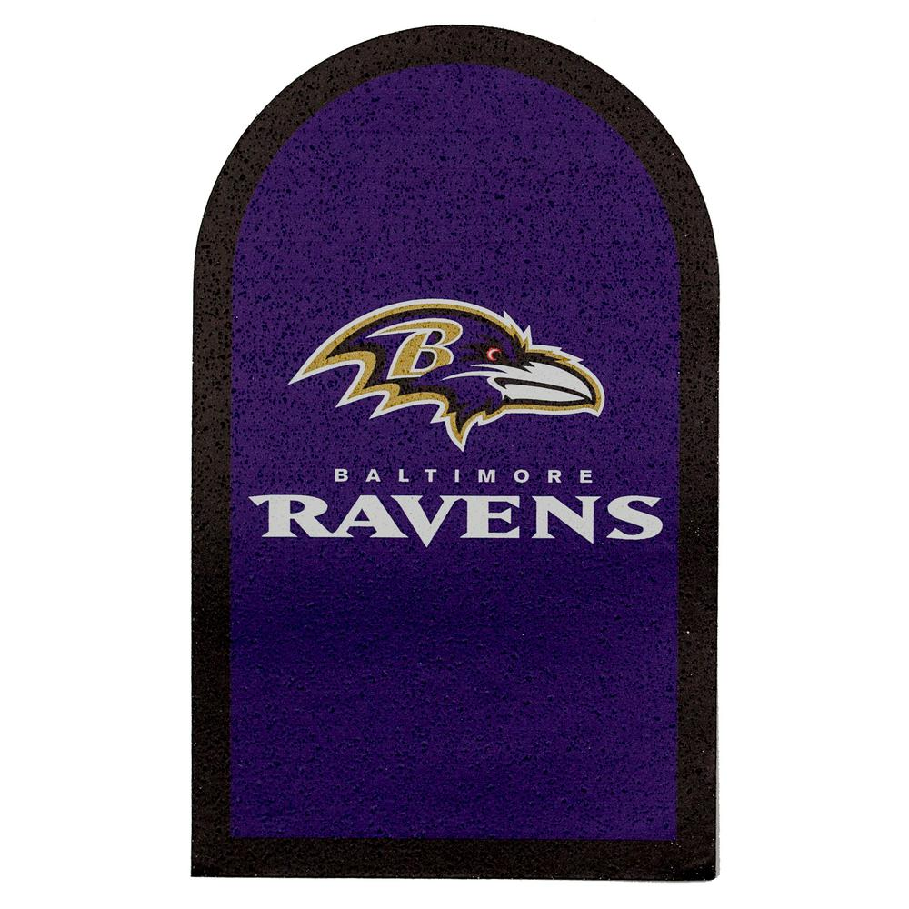NFL Baltimore Ravens Mailbox Door Logo Graphic