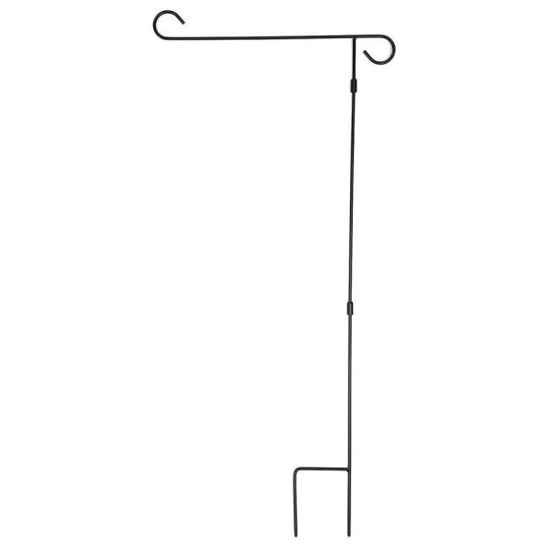 36 in. Black Steel Yard Flagpole