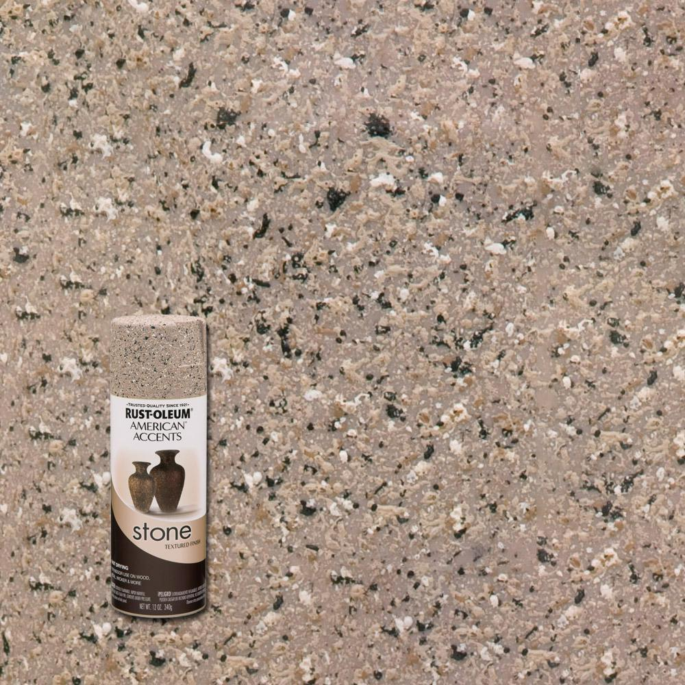 Rust-Oleum American Accents 12 oz. Stone Creations Pebble Textured Finish Spray Paint (6-Pack)