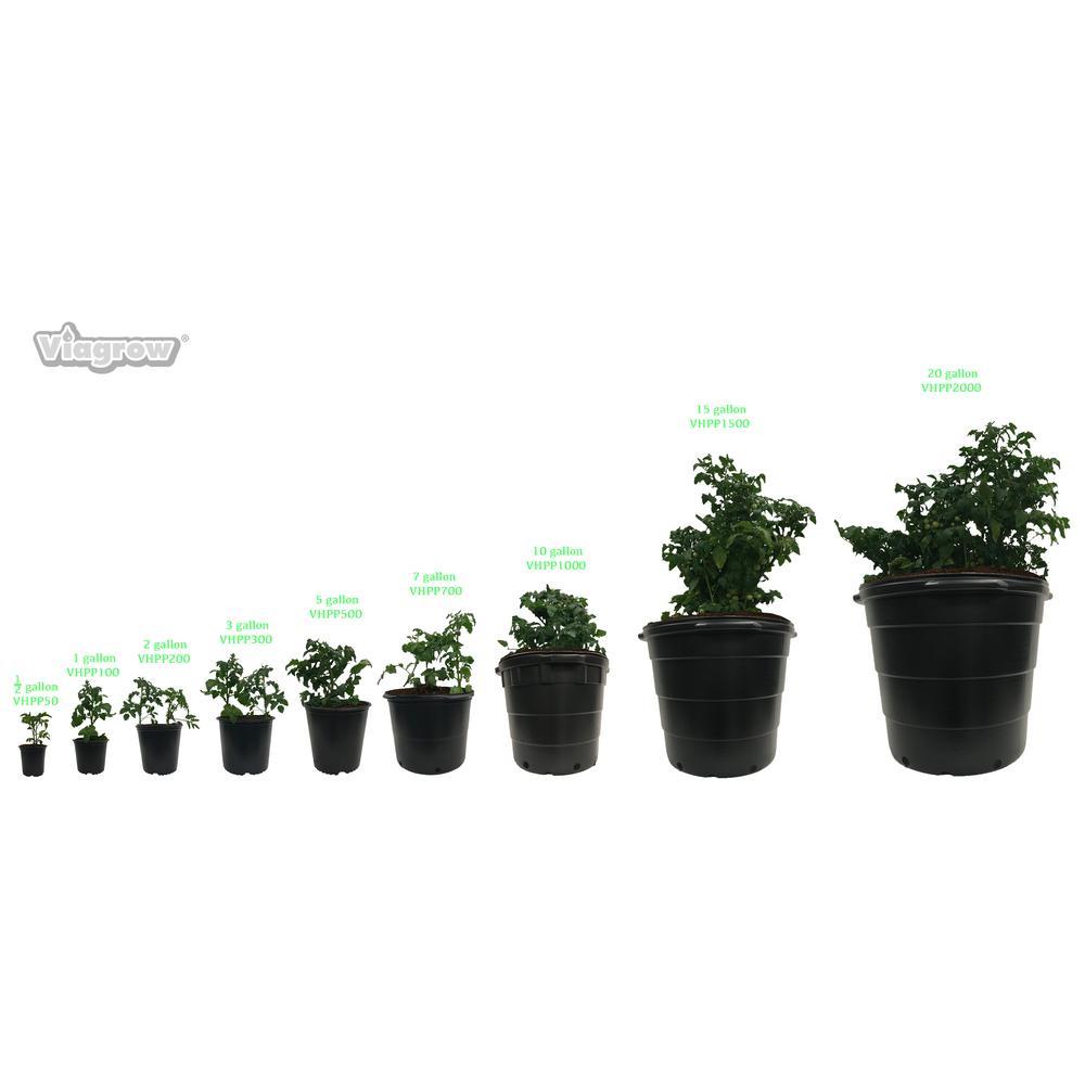 10 Gal Round Plastic Nursery Pots