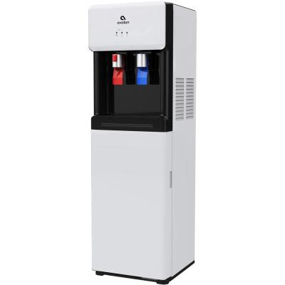 Bottom Loading Water Cooler Dispenser, Hot & Cold Water, UL/Energy Star- White