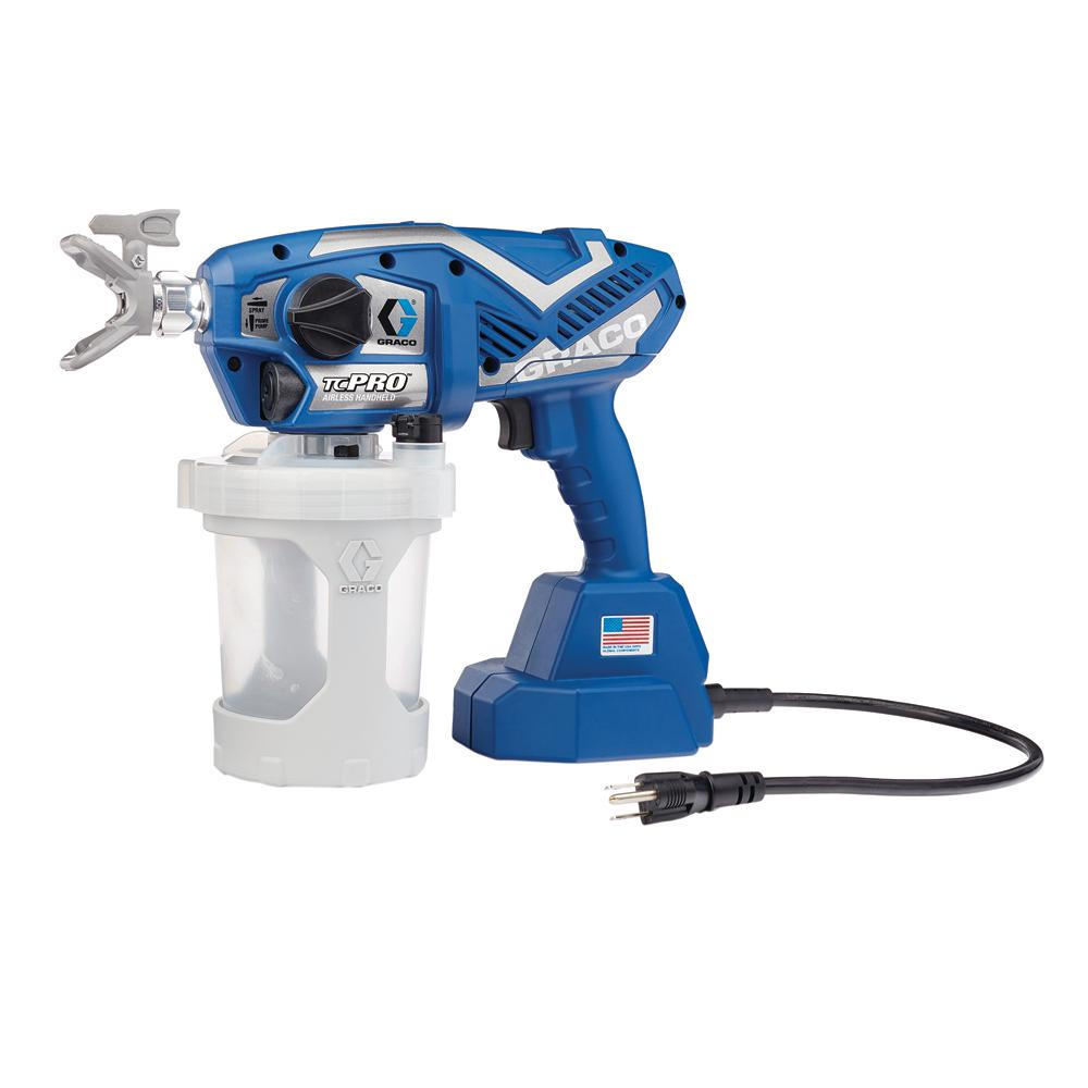 graco tc pro corded airless paint sprayer-17n163