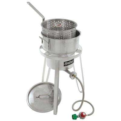 10 Qt. Stainless Fish Cooker