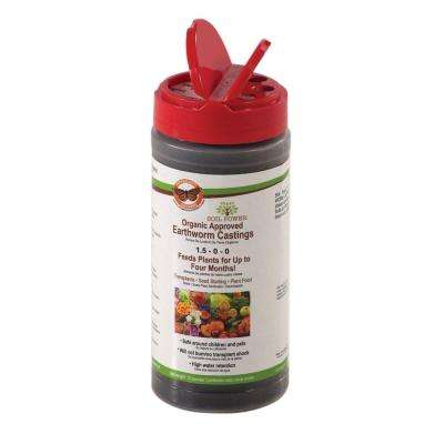 12 oz. Concentrated Pure Organic Worm Castings