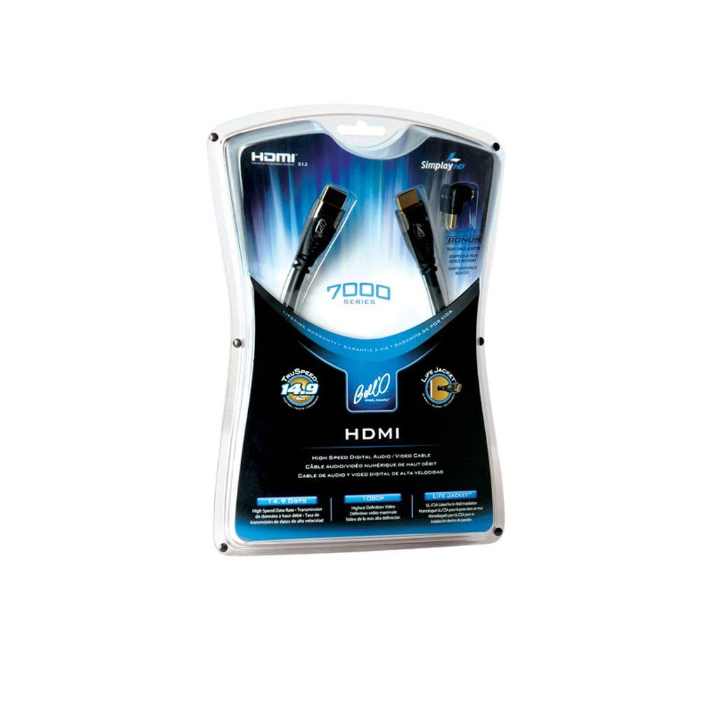 Bell'O 7000 Series 3-1/4 ft. High-Speed HDMI Digital Audio/Video Cable