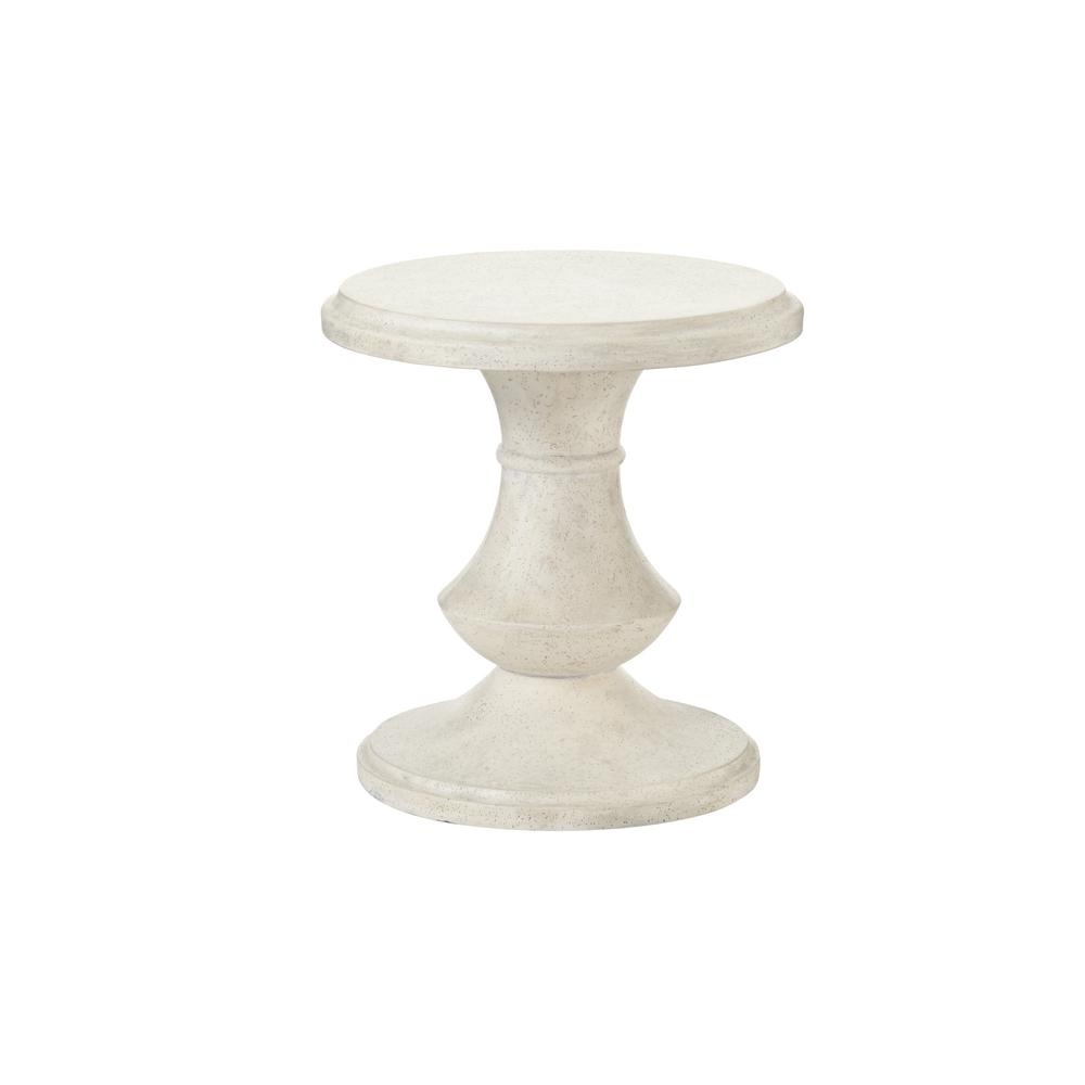 Megan Round Terrafab Outdoor Accent Table