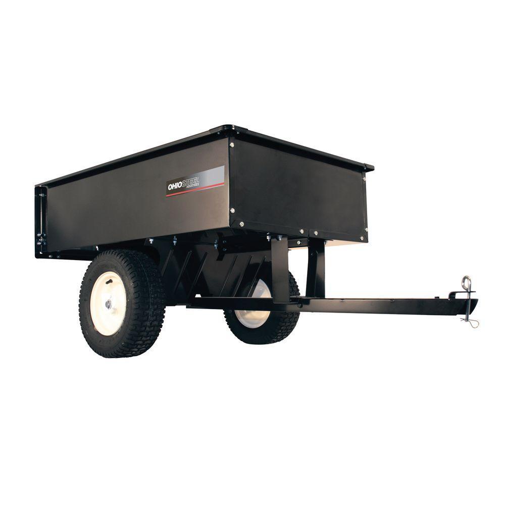 Ohio Steel 12 Cu Ft 1000 Lb Steel Atv Dump Cart 3048hkd