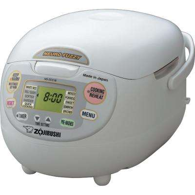 Neuro Fuzzy 7-Cup Premium White Rice Cooker with Built-In Timer