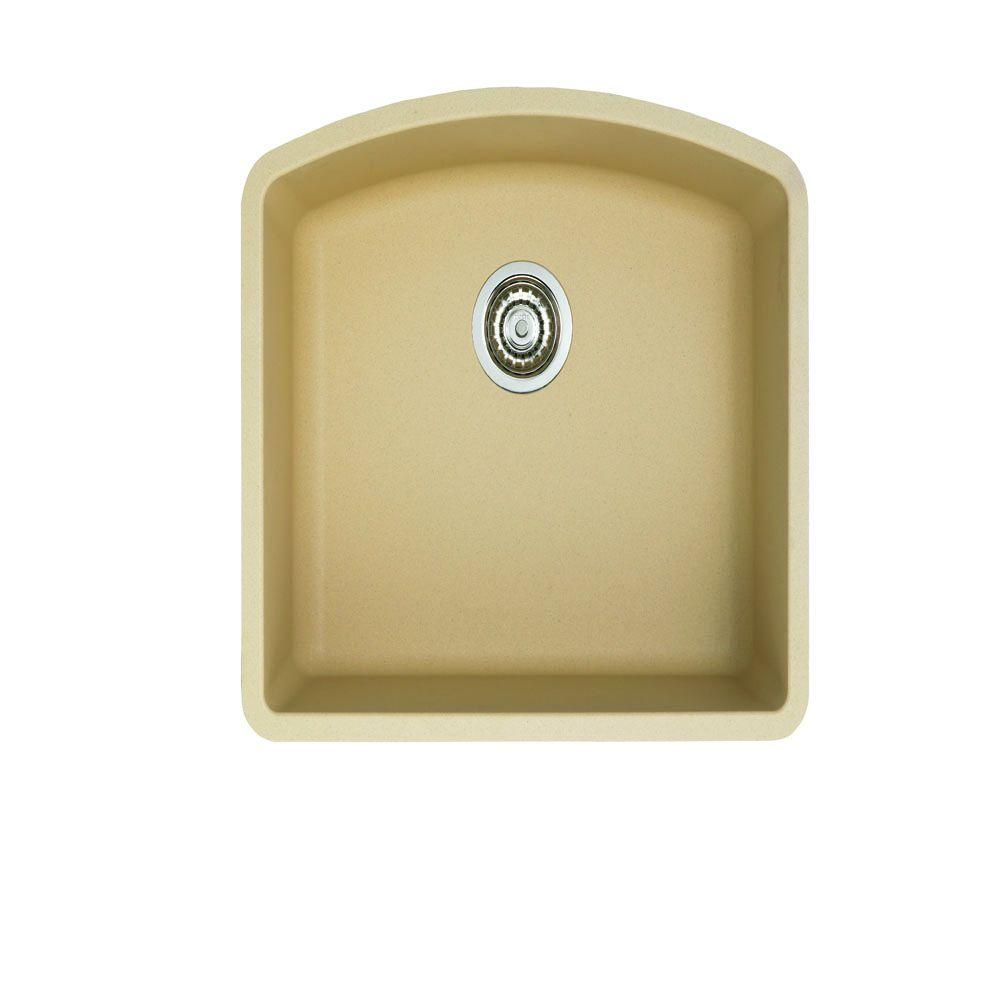 blanco undermount kitchen sink blanco undermount granite 24 in single bowl 4787