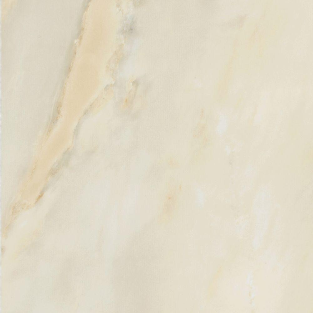 TrafficMASTER Take Home Sample - Allure Livorno Onyx Resilient Vinyl Tile Flooring - 4 in. x 4 in.