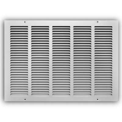 20 in. x 14 in. White Return Air Grille