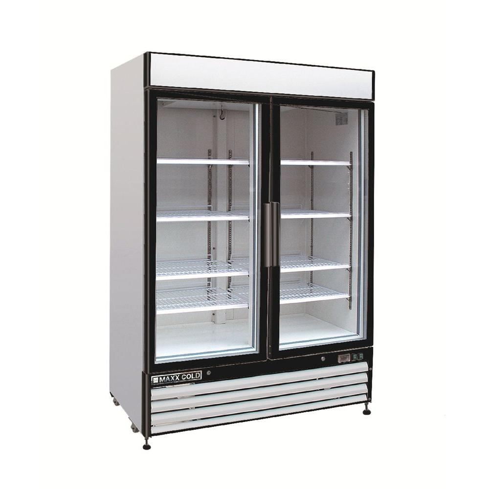 X-Series 48 cu. ft. Double Door Commercial Reach In Upright Freezer