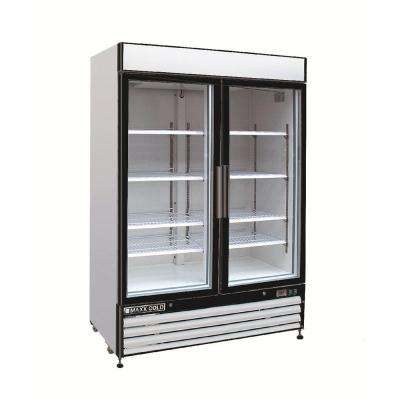 X-Series 48 cu. ft. Double Door Commercial Reach In Upright Freezer in White