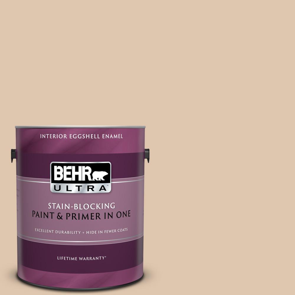 BEHR Premium Plus Ultra 1 Gal. #N260-2 Almond Latte