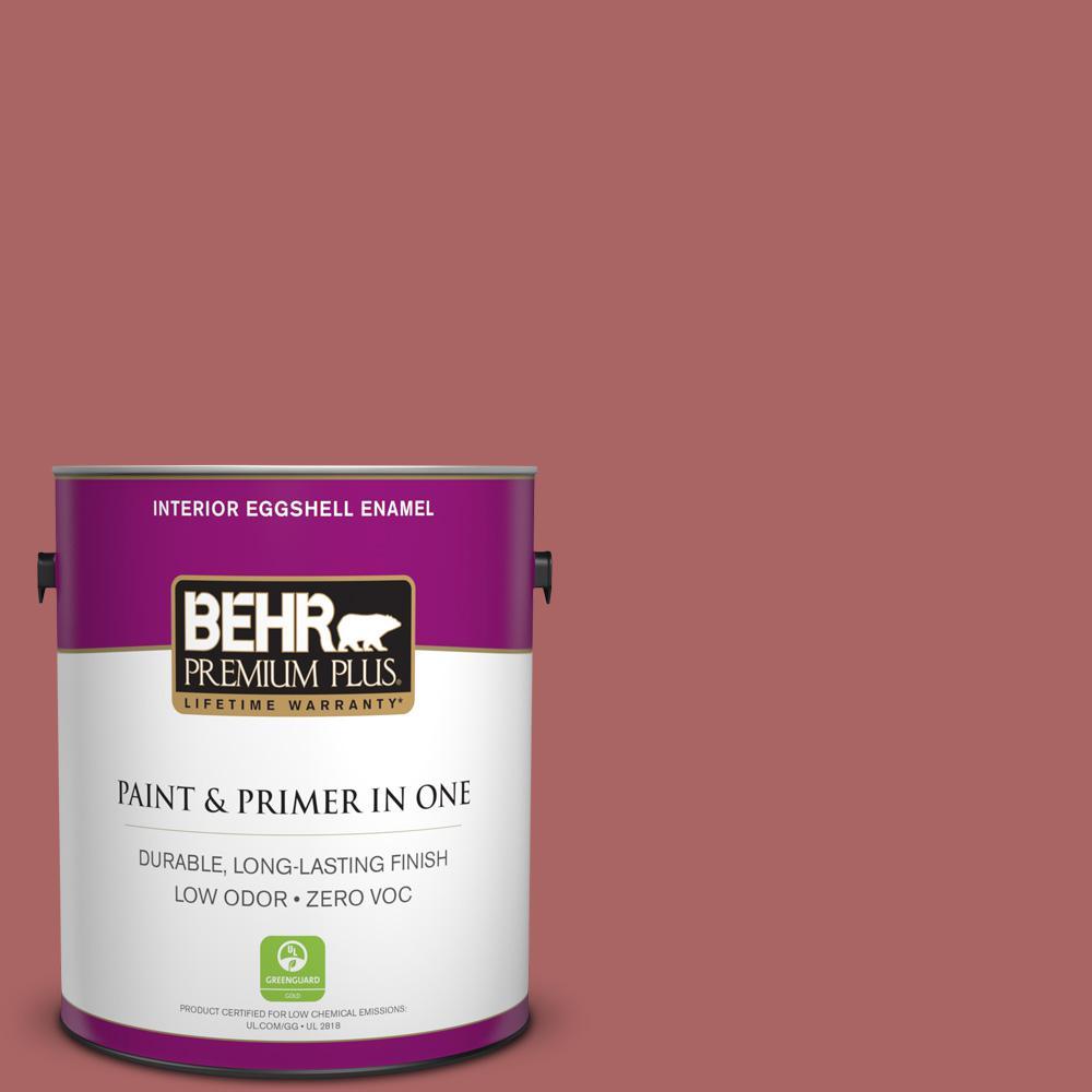 1 gal. #PPU1-06 Rose Marquee Zero VOC Eggshell Enamel Interior Paint