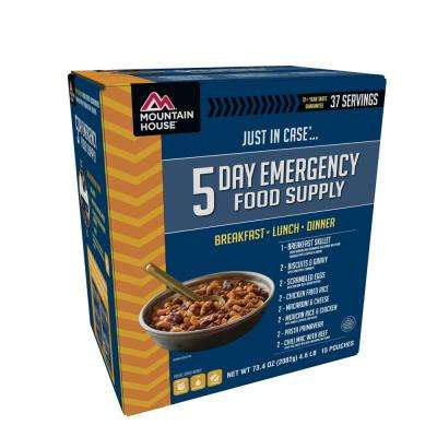 Just in Case 5-Day Emergency Food Supply Kit