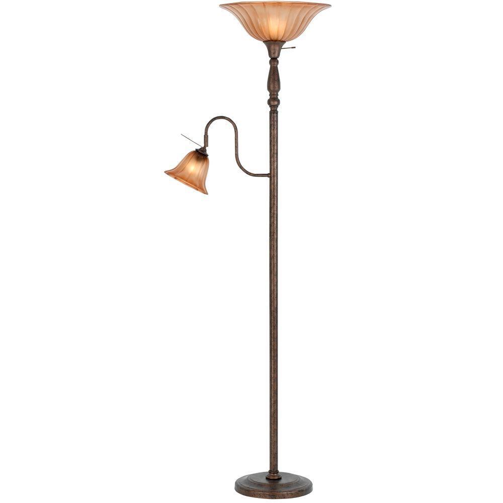 Filament Design Cooper 70.2 in. Rust Floor Lamp