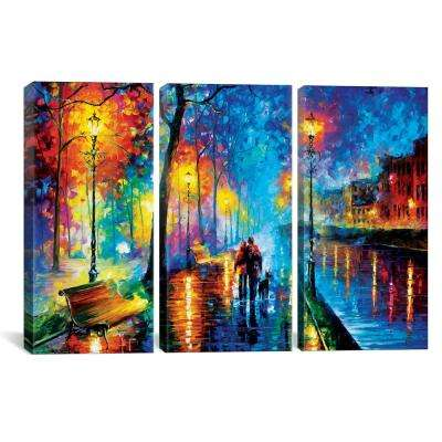 """""""Melody Of The Night"""" by Leonid Afremov Canvas Wall Art"""