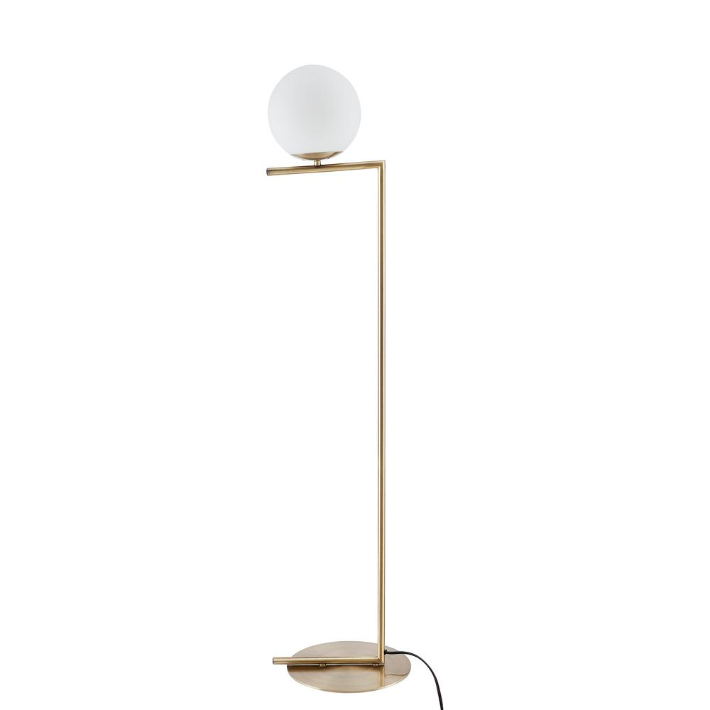 Southern Enterprises Sanga 53 in. Bronze Floor Lamp was $209.99 now $90.04 (57.0% off)
