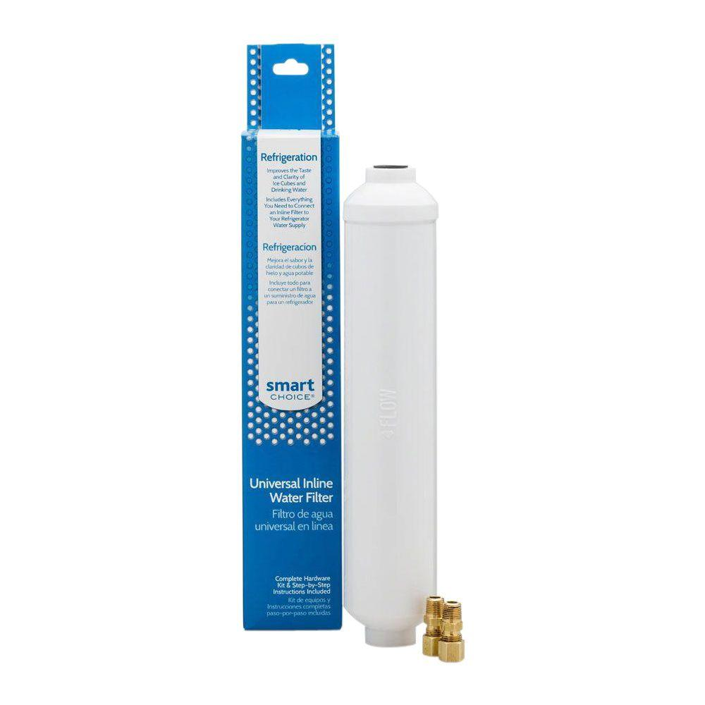 smart choice inline refrigerator water filter 5304492441 the home depot. Black Bedroom Furniture Sets. Home Design Ideas