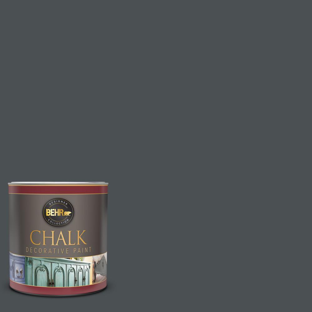 1 qt. #PPU18-01 Cracked Pepper Interior Chalk Decorative Paint