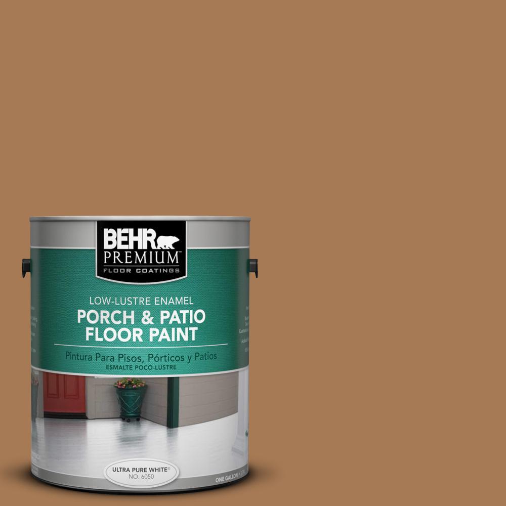 1 gal. #S270-7 Antique Penny Low-Lustre Porch and Patio Floor Paint