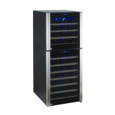 73-Bottle Evolution Series Dual Zone Wine Cellar