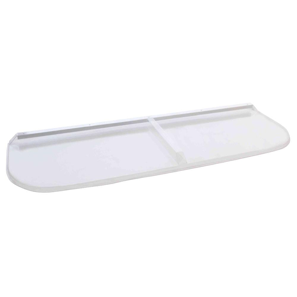 Polycarbonate Elongated Window Well Cover