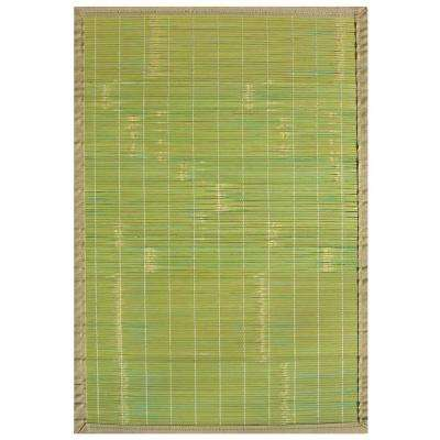 Key West Green 6 ft. x 9 ft. Area Rug